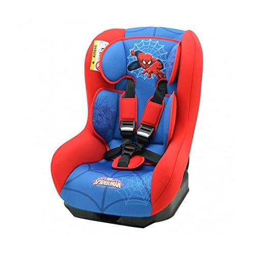 Nania Driver Group 0 1 Infant High Booster Car Seat Disney Spiderman
