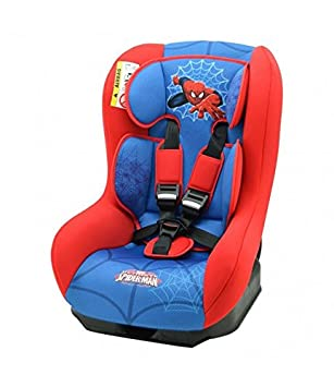 Nania Driver Group 0+//1 Infant High Booster Car Seat Disney Spiderman