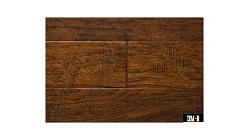 American Hickory - Chestnut - Engineered Hardwood - Lifetime Structural 50 Year Finish - Glue Down, Nail, Staple - CARB & Lacey Act Compliant - 3/8x5x47-1/4 RL