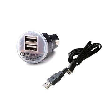 Papelera para coche cargador adaptador Cable para Garmin GPS Nuvi 2598/LM/T 2498/LM/T: Amazon.es: Electrónica
