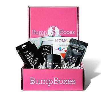 60aea23560ab0 Amazon.com : Bump Boxes 2nd Trimester Pregnancy Gift Box : Beauty