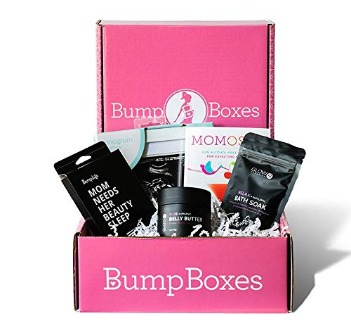 Bump Boxes 2nd Trimester Pregnancy Gift Box (Essentials Pregnancy Kit)
