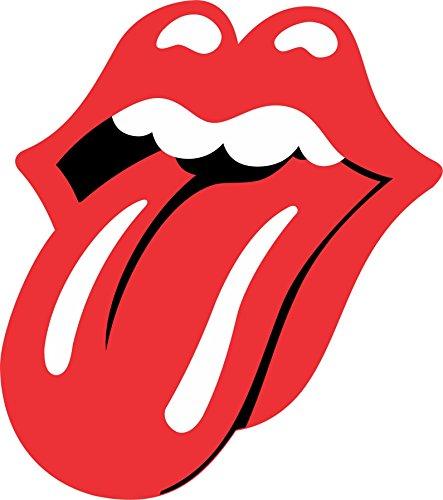 Rolling Stones Tounge - Vinyl Sticker Decal - Full Color CAD Cut Car logo (3