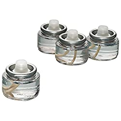 Fuel Cell Tealights Liquid Oil Candles Paraffin 8