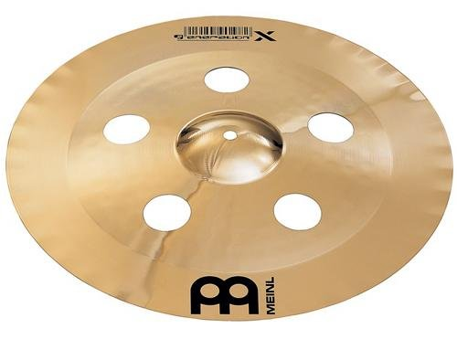 Meinl Cymbals GX-19CHC-B Generation-X 19-Inch China Crash Cymbal (VIDEO)