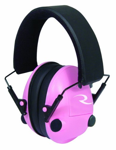 Radians Pink Pro-Amp Electronic Ear Protection Muff