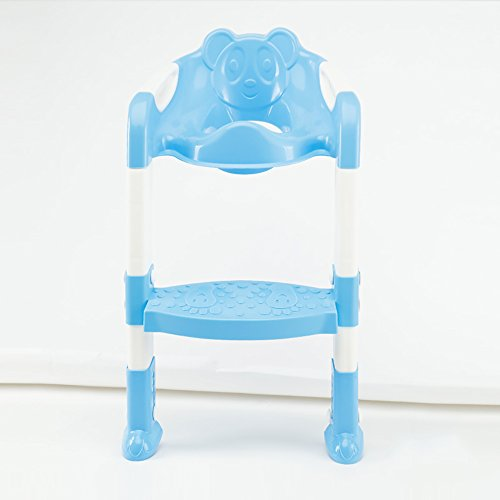 ZAYJD XRXY Children Collapsible Toilet Rack/Baby Stepped Stool/Creative Toilet Ring/Commode Chairs (Color : - Commode Ring
