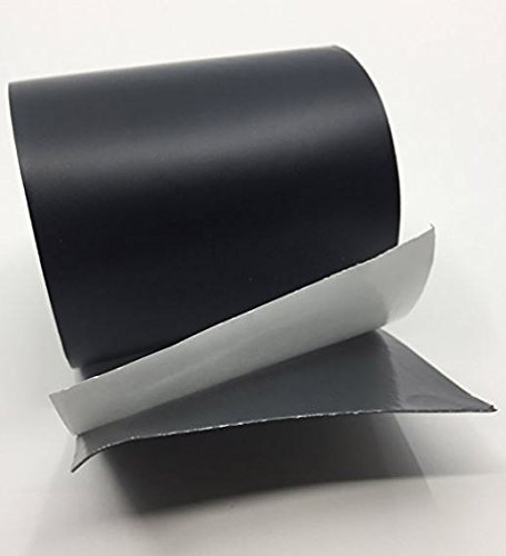 Power Patch Tape Black - All Weather Patch Tape | Stretchy Sealing Tape for Roofing, Waterproof Tape for Pipes | Patch Holes & Cracks | Butyl Tape 4 inch x 5 Feet
