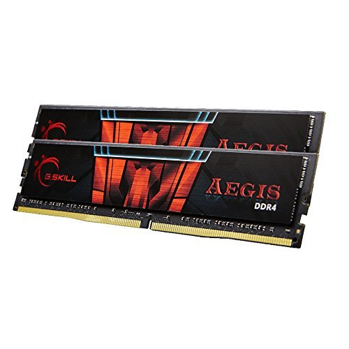 (G.Skill Aegis 16GB 2 x 8GB 288-Pin SDRAM DDR4 2400 (PC4 19200) Intel Z170/X99 Platform Desktop Memory F4-2400C15D-16GIS)