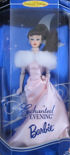 Barbie Bratz Doll (BARBIE ENCHANTED EVENING Doll (BRUNETTE Hair) COLLECTOR EDITION 1960 Fashion and Doll Reproduction (1995 Barbie Collectibles))