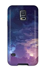 Joseph Xiarhos Boone's Shop 9046710K19794327 Galaxy S5 Case Cover Dual Monitors Zombie Case - Eco-friendly Packaging