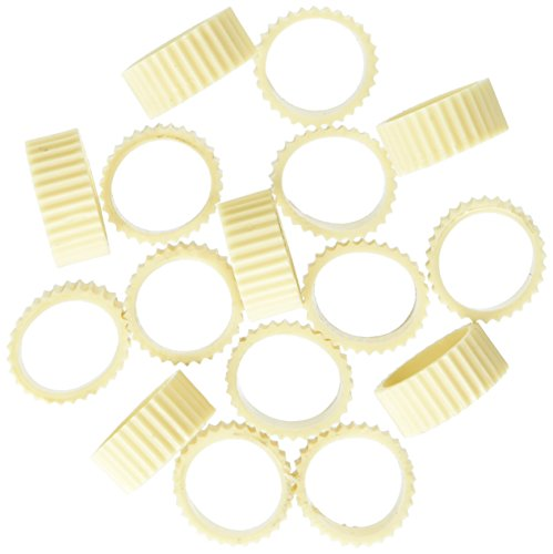 One Package of 20 Rubber Candle Grippers for Taper Candles and Candle Cups