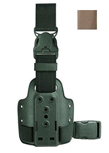 Safariland 6005-10 Single Strap Leg Shroud W/ QR, Coyote Brown ()