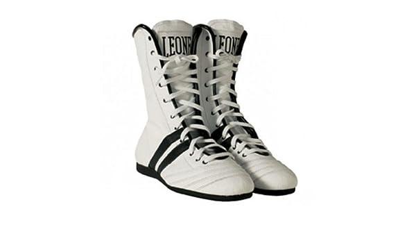 Botas Boxeo León Blanco Talla 042 León Sport: Amazon.es: Deportes y aire libre