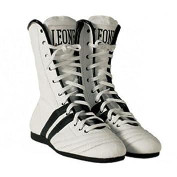 Botines de Boxeo Leone. Blancos. Talla 043 Leone deporte.: Amazon.es: Deportes y aire libre