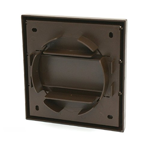 Home Smart Square Air Vent Duct Grille Extractor Fan Wall Outlet Gravity Flap Brown by Smarthome (Image #2)
