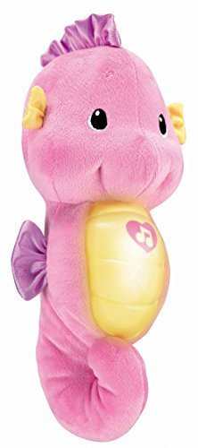 (Fisher-Price Ocean Wonders Soothe and Glow Seahorse - Soothing Sleeping Baby lullaby music toy - Children's Basic Skills Development Toys and colic in)