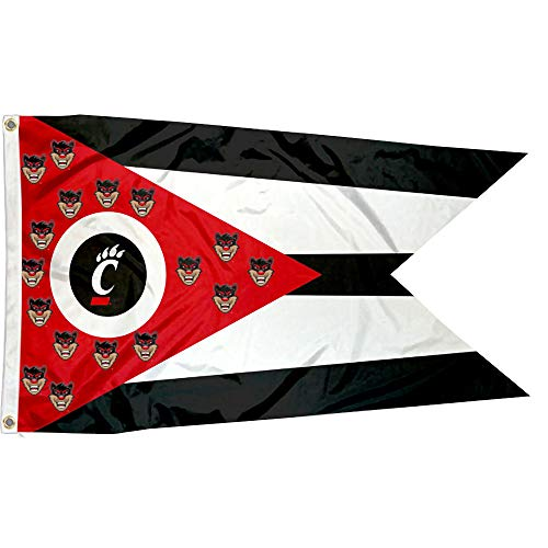 - College Flags and Banners Co. Cincinnati Bearcats State of Ohio Flag