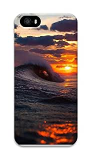 TYH - iPhone 5 5S Case Cool Surf Wave Sunset 3D Custom iPhone 5 5S Case Cover phone case