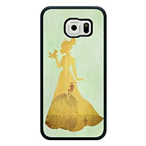 Samsung Galaxy S6 Case, Customized Disney Princess And The Frog Black Soft Rubber TPU Samsung Galaxy S6 Case, Princess And The Frog Galaxy S6 Case(Not Fit for Galaxy S6 Edge)