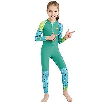 4ef9b2b954 Children's Swimsuits Boys And Girls Wetsuit Siamese Long Sleeves Hot Cute Swimwear  Children's Swimsuit Children's Datong