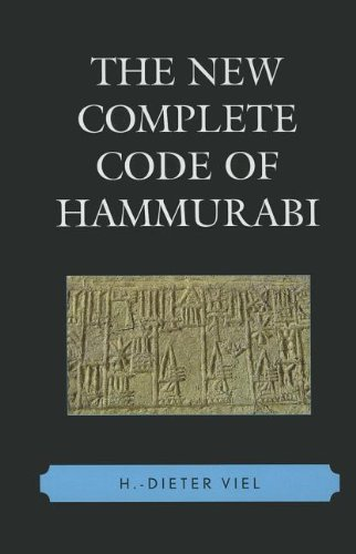 The New Complete Code of Hammurabi