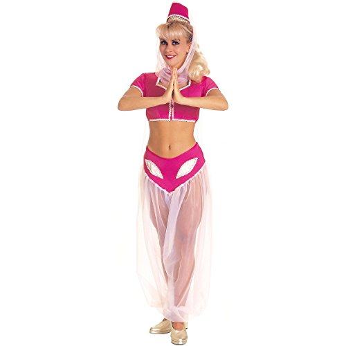 [I Dream of Jeannie Costume - Standard - Dress Size 10-12] (I Dream Genie Costume)
