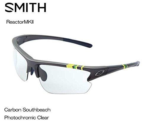 SMITH(スミス) Reactor MK2 CARBON SOUTHBEACH PHOTOCHROMIC CLEAR 209000073 調光サングラス   B073RZKNWC