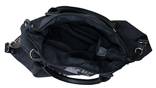 à PiriModa porter Sac l'épaule à femme Noir pour 8twHxqtZ