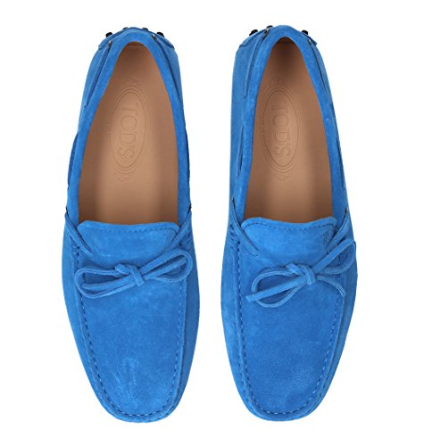 Tods Mens Xxm0gw05470re0u608 Mocassini In Pelle Blu