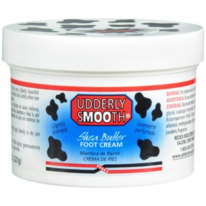 PACK OF 3 EACH UDDERLY SMOOTH FOOT CR W/SHEA 8OZ PT#73106471408