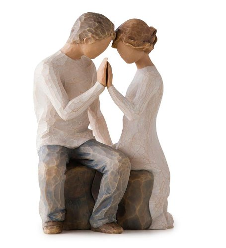 Willow Tree hand-painted sculpted figure, Around You