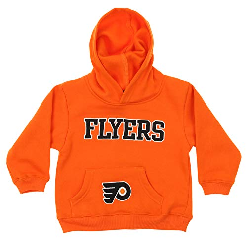 Outerstuff NHL Infant and Toddler's Fleece Hoodie, Philadelphia Flyers 2T