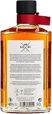 Kamiki Whisky Blended Malt Whisky 48% - 500 ml in Giftbox