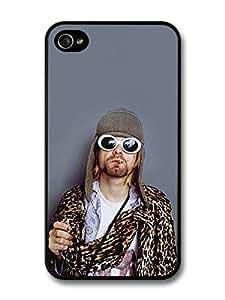 Kurt Cobain Wearing Glasses Portrait For Samsung Galaxy S5 Mini Case Cover