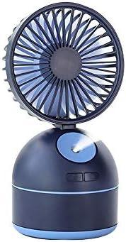 Ventilador Pequeño USB con Humidificador, Mini Ventilador De ...