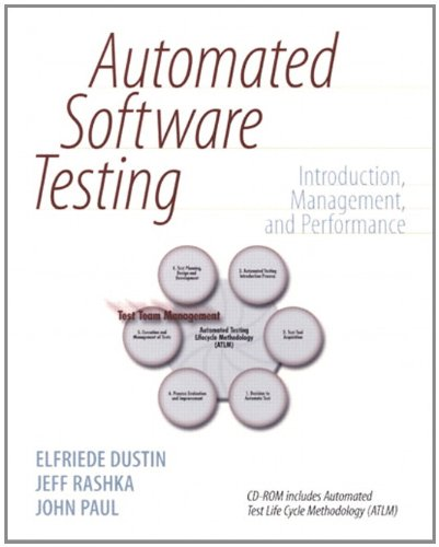 Download Automated Software Testing: Introduction, Management, and Performance Pdf