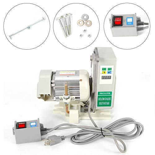 Industrial Sewing Machine TBVECHI Brushless Energy Saving Servo Motor Industrial Sewing Machine Clutch Motor 600W