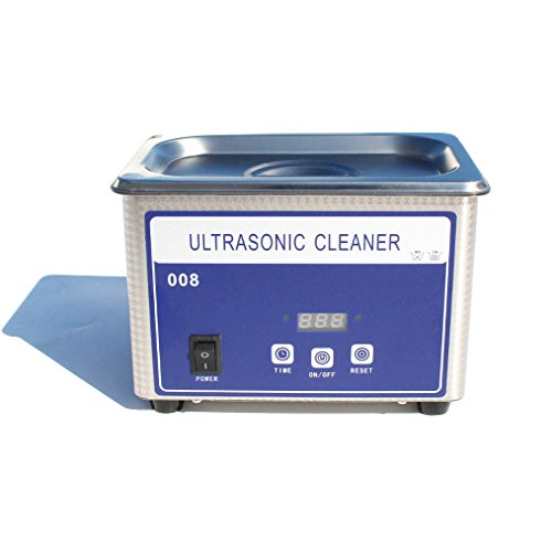 Digital Small Ultrasonic Cleaner 35W for Jewelry Jewellery Ring Eyeglasses Lenses Dentures Watch Necklace Coin Cleaning