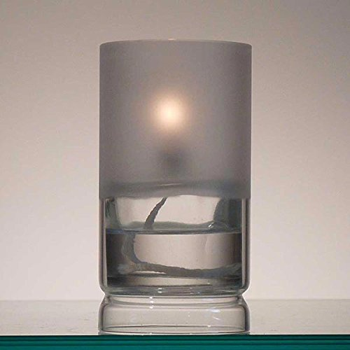 Firefly Ethereal Frosted Glass Oil Lamp for Fine Dining & Restaurants