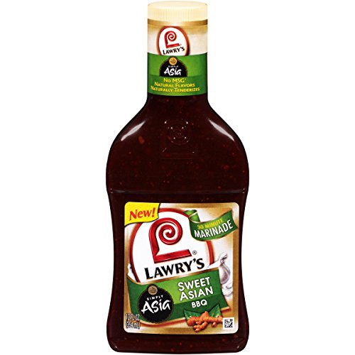 Lawry's Sweet Asian Bbq Marinade With Simply Asia, 12 fl oz (Pack of 6)