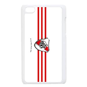 River Plate Football Club F.C,Darseneros Personalized IPod Touch 4/4G/4th Generation Hard Plastic Shell Case Cover White&Black(HD image)