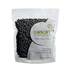 BIOSOFT charcoal peelables waxes