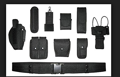 Black Law enforcement modular equipment system security military tactical duty utility belt Army Belt Tactical Belt Colt Holster,Gun Holster, Flashlight Holster, Baton Holster,walkie talkie holster