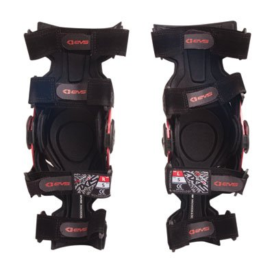 EVS Axis Sport Knee Brace Pair 2017 Left/Right - Large Black
