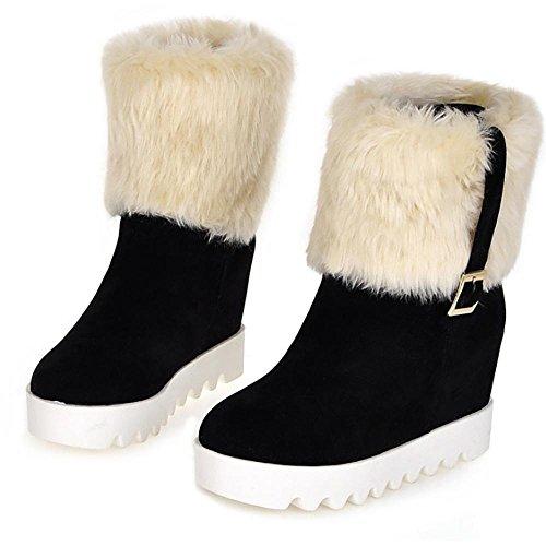 da snowboard delle black da scarpe Scarpone invernali piattaforme invernali delle delle donne piatte SHANGXIAN ginnastica CEw5xqH