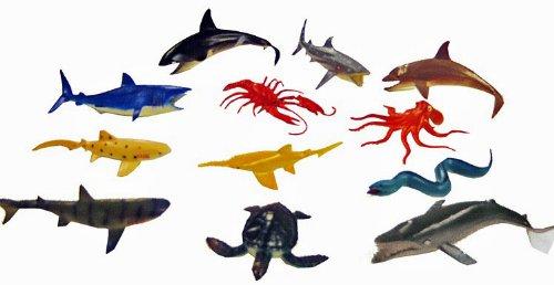 Ocean Sea Animals Creatures Plastic