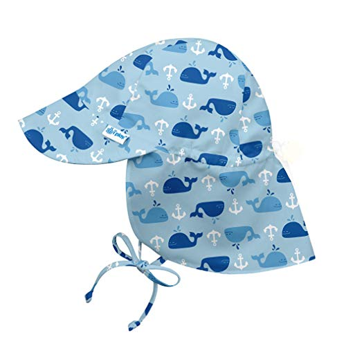 Flap Hat 9-18 Months Green Sealife I-Play