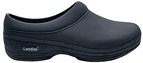 Landau Revive Comfort Unisex Clog, Black, 9 M US