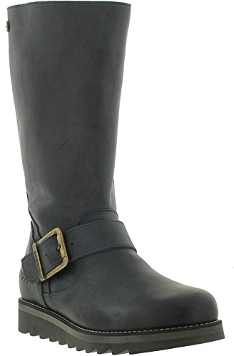 Leather Navy Hyde Coast Mid amp; Oak Calf Womens Boots cYHqgUOZ